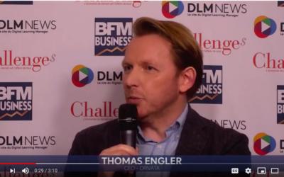 Thomas Engler, Directeur Général de Drivata interviewé par DLM News.