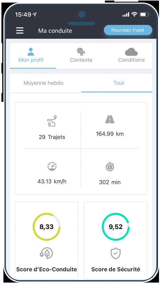 Drivata App sreenshot